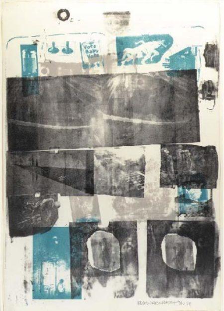Robert Rauschenberg-Robert Rauschenberg - Guardian/ Dwan Gallery poster-1968
