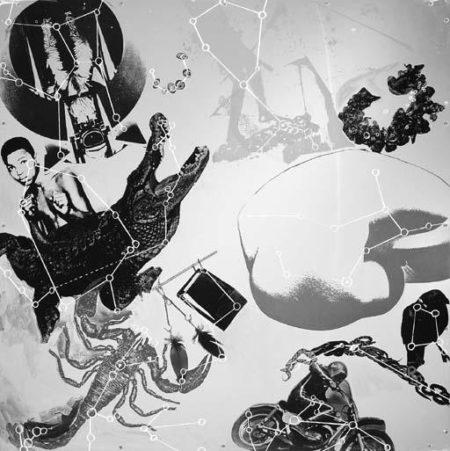 Robert Rauschenberg-Robert Rauschenberg - Star Quarters II-1971