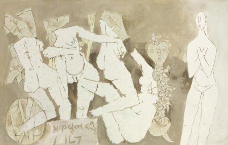 Maqbool Fida Husain-Untitled-1971