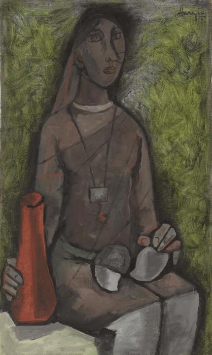 Maqbool Fida Husain-Untitled-1958