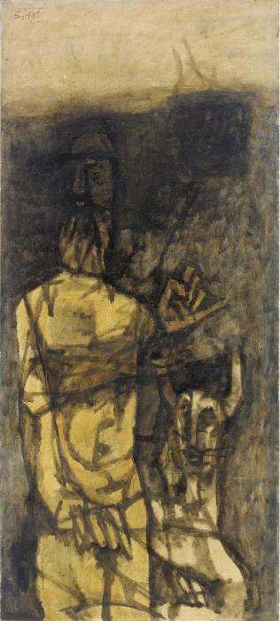 Maqbool Fida Husain-Man-1963