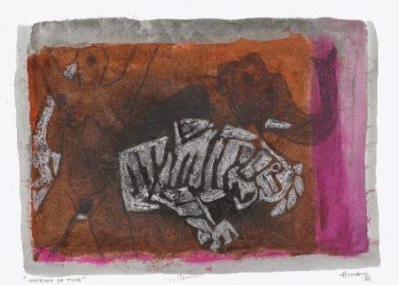 Maqbool Fida Husain-Imprint of Time-1981