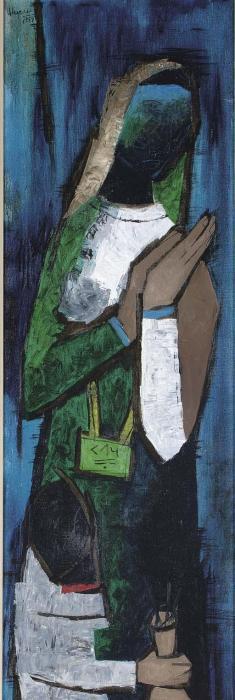 Maqbool Fida Husain-Muharram-1957