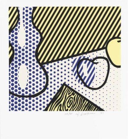 Roy Lichtenstein-Still Life (from The Geldzahler Portfolio)-1997
