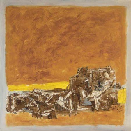 Maqbool Fida Husain-Jaisalmer-1964