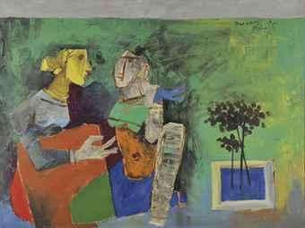 Maqbool Fida Husain-Untitled (Women)-
