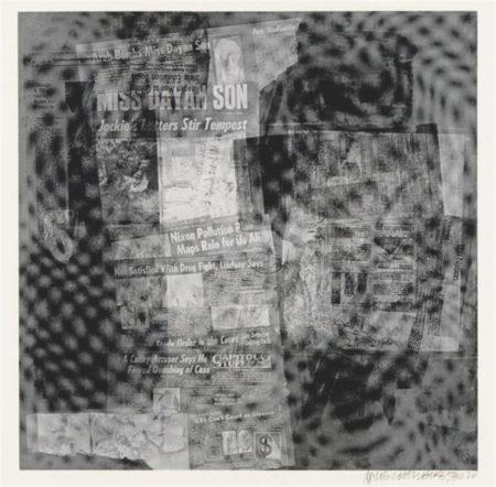 Robert Rauschenberg-Robert Rauschenberg - Surface Series # 37 (From Currents) (F. 108)-1970