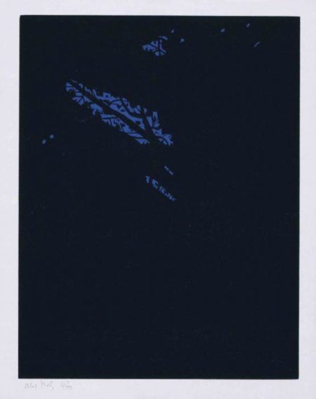 Alex Katz-Night, from Northern Landscapes-1994