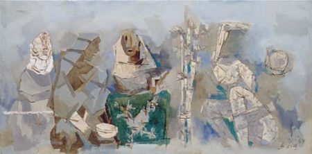 Maqbool Fida Husain-Trial-1969