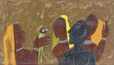 Maqbool Fida Husain-Untitled-1961