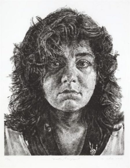 Chuck Close-Marta, Fingerprint-1986