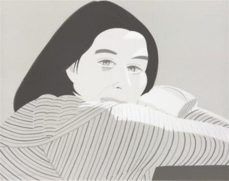 Alex Katz-Striped Jacket (M. 129)-1981