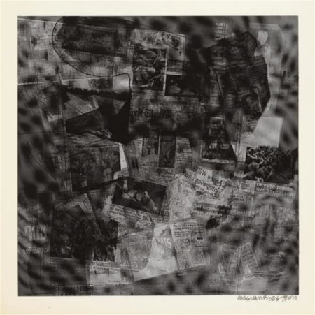 Robert Rauschenberg-Robert Rauschenberg - Surface Series # 41 (From Currents) (F. 112)-1970