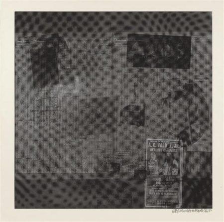 Robert Rauschenberg-Robert Rauschenberg - Surface Series # 51 (From Currents) (F. 122)-1970