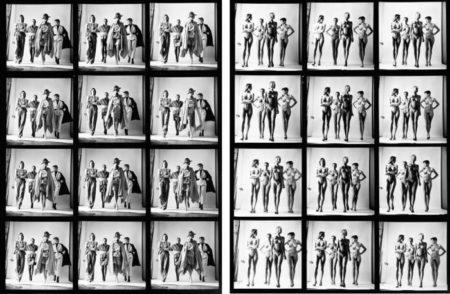 Helmut Newton-Sie Kommen (Dressed) & (Naked), Paris-1981