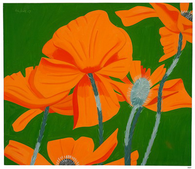 Alex Katz-Poppies-1967
