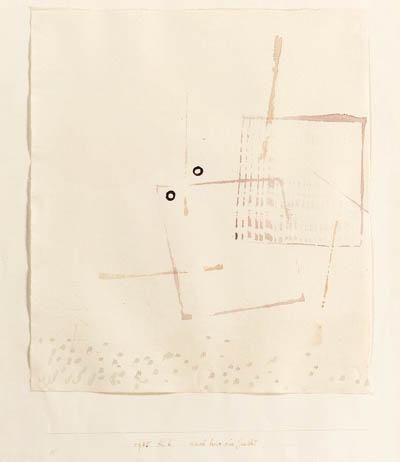 Paul Klee-Auch hier ein Gesicht-1935
