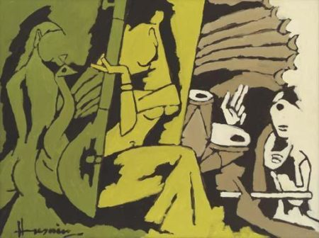 Maqbool Fida Husain-Musical Interlude-