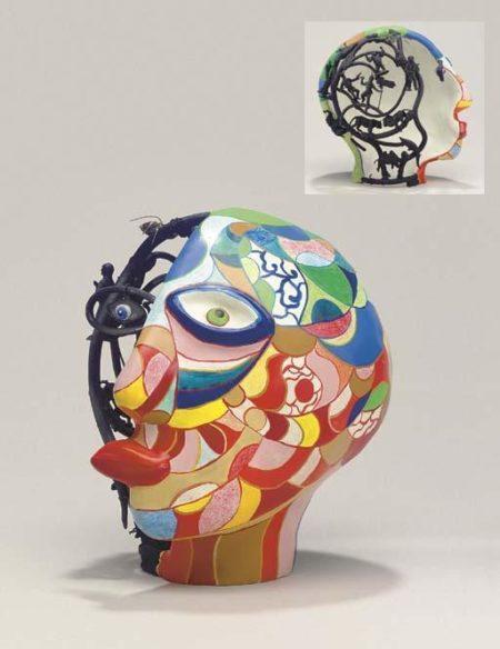 Niki de Saint Phalle-Half and Half II-1981