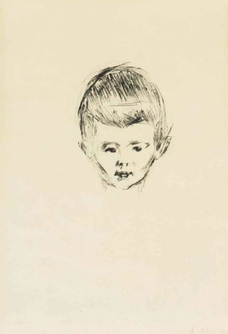 Edvard Munch-Andreas Schwarz-1906