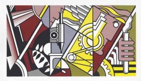 Roy Lichtenstein-Peace Through Chemistry I, from Peace Through Chemistry-1970