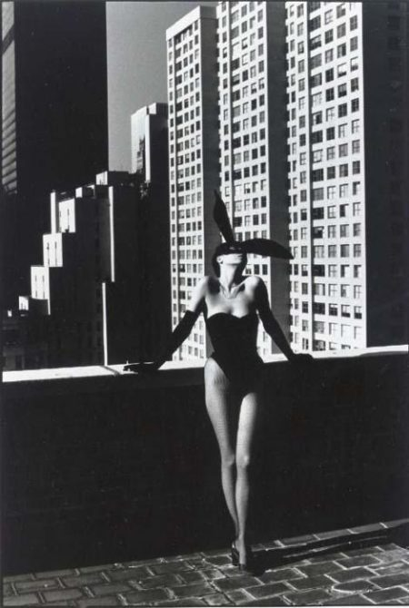 Helmut Newton-Elsa Peretti As A Bunny, New York (1975)-1975