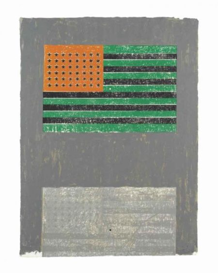 Jasper Johns-Flags-1968