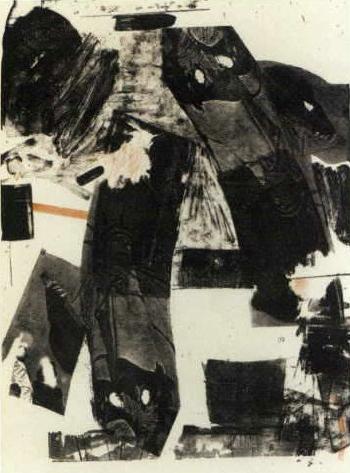 Robert Rauschenberg-Robert Rauschenberg - Front Roll-1964