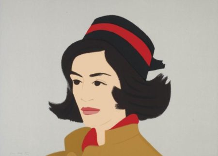Alex Katz-Green Jacket; Ada in Hat; Seatshirt II-1990