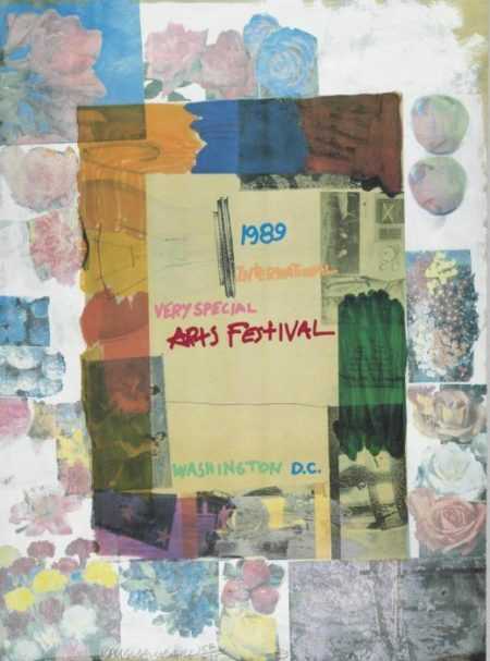 Robert Rauschenberg-Robert Rauschenberg - International Very Special Arts Festival, Washington D.C-1989