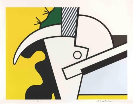 Roy Lichtenstein-Bull Head II, from Bull Head Series-1973