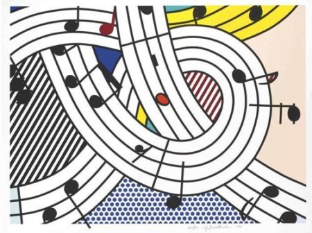 Roy Lichtenstein-Composition II-1996