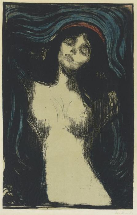 Madonna / Liebendes Weib / Loving woman / Woman making love (W. 39; Sch. 33)-1902