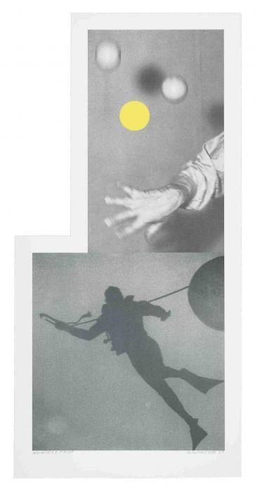 Juggler's Hand (with Diver)-1988