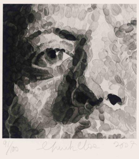 Chuck Close-Untitled / Phil, Fragment-2007