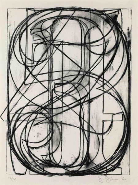 Jasper Johns-0 Through 9 (Universal Limited Art Editions 3)-1960