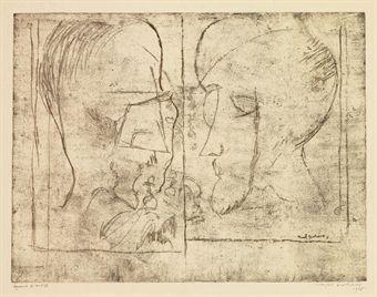 Marcel Duchamp-The Chess Players (Schwarz 621)-1966