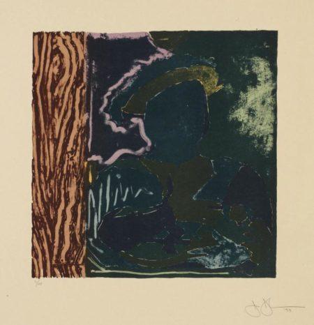 Jasper Johns-After Holbein-1993