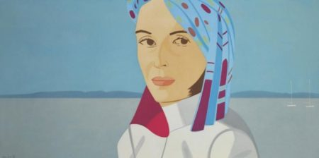 Alex Katz-Ada with Blue Hat / Blue Hat-2004
