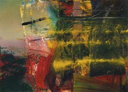 Gerhard Richter-Abstraktes Bild 595-4 (Abstract Painting 595-4)-1986