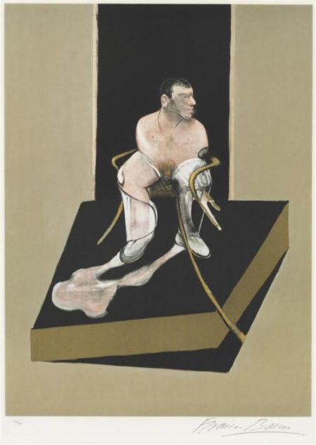 Francis Bacon-Portrait of John Edwards, from Triptych, Center Panel-1987