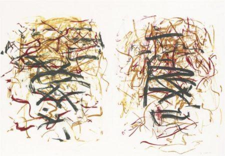 Joan Mitchell-Sunflower III, from Sunflower Series-1992