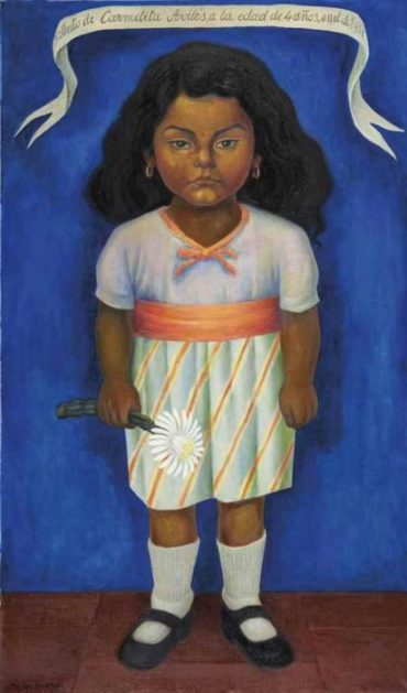 Diego Rivera-Retrato de Carmelita Aviles-1937