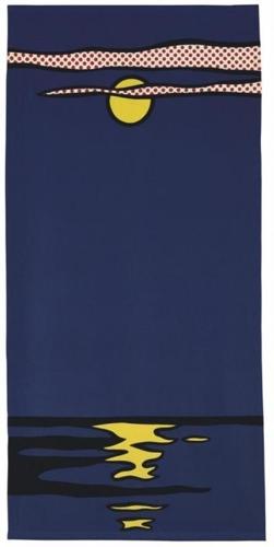 Roy Lichtenstein-Moonscape Banner-1966