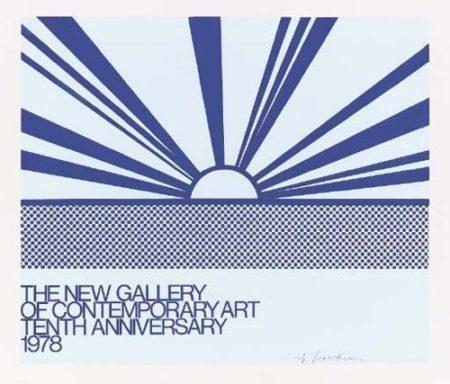 Roy Lichtenstein-Rising Sun-1978