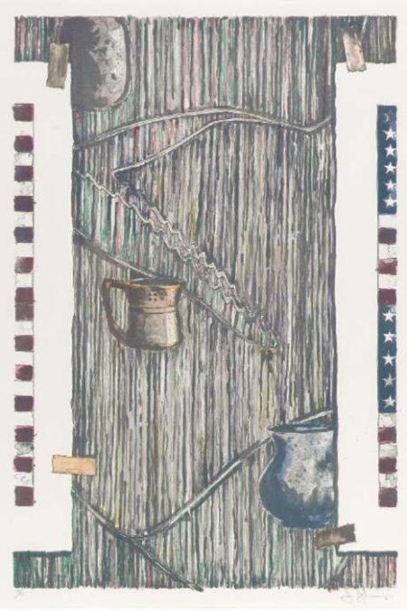Jasper Johns-Ventriloquist (ULAE 233)-1985