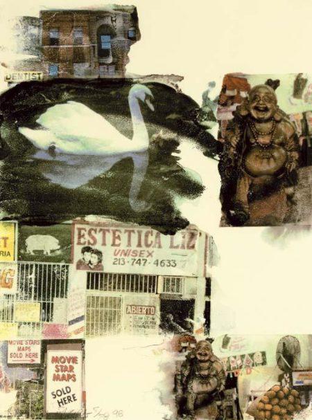 Robert Rauschenberg-Robert Rauschenberg - L.A.Uncovered # 7-1998