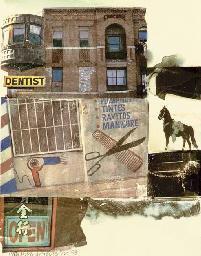 Robert Rauschenberg-Robert Rauschenberg - L.A. Uncovered # 10-1998