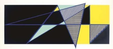 Roy Lichtenstein-Imperfect 44 3/4 x 103-1988