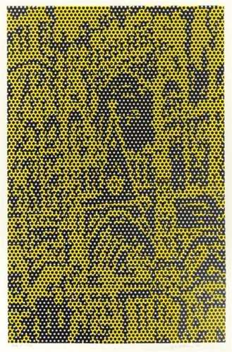 Roy Lichtenstein-Cathedral #6, State I, from Cathedral Series-1969